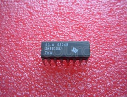 SN55138J QUADRUPLE BUS TRANSCEIVERS
