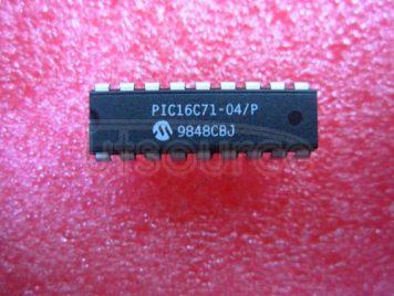 PIC16C71-04/P