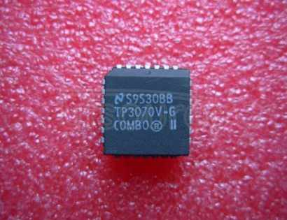 TP3070V-G TP3070, TP3071, TP3070-X COMBO II Programmable PCM CODEC/Filter<br/> Package: PLCC<br/> No of Pins: 28