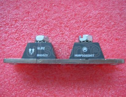 MURP20020CT POWERTAP II Ultrafast SWITCHMODE Power Rectifiers