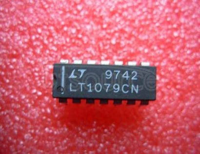 LT1079CN Micropower, Dual and Quad, Single Supply, Precision Op Amps