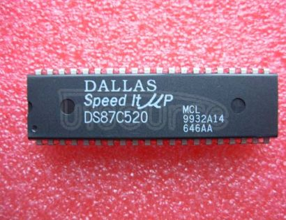 DS87C520MCL EPROM/ROM High-Speed Microcontrollers