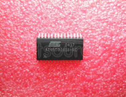 AT45DB161B-RC 16 MEGABIT 2.5-VOLT ONLY OR 2.7-VOLT ONLY DATAFLASH
