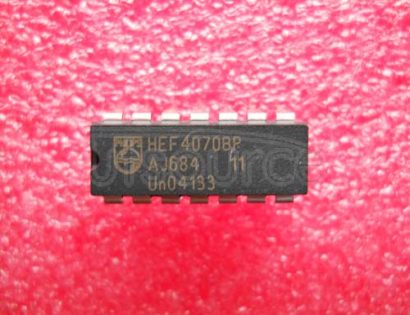 HEF4070BP Quad 2-input Exclusive OR XOR Gate