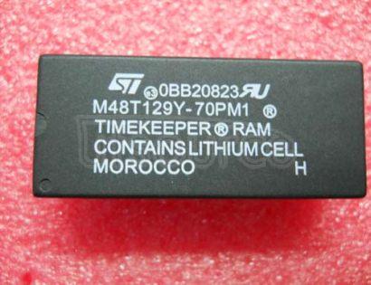 M48T129Y-70PM1 3.3V-5V 1 Mbit 128Kb x8 TIMEKEEPER SRAM