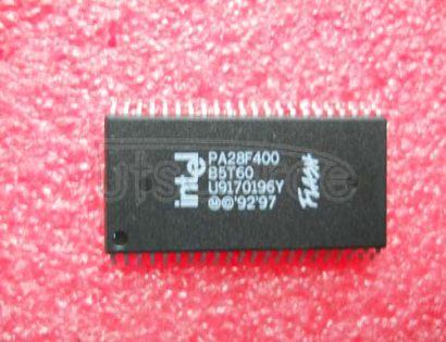 PA28F400B5T60 SMART 5 BOOT BLOCK FLASH MEMORY FAMILY 2, 4, 8 MBIT