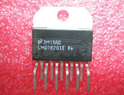 LMD18201T 3A, 55V H-Bridge