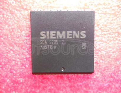 SDA9205-2 Triple 8-Bit Analog-to-Digital-Converter