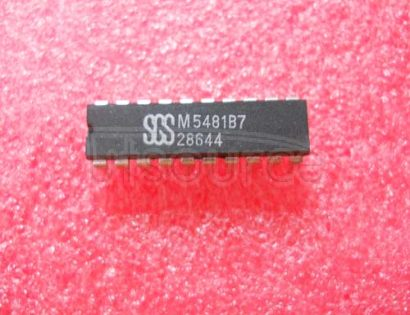 M5481B7 LED DISPLAY DRIVER