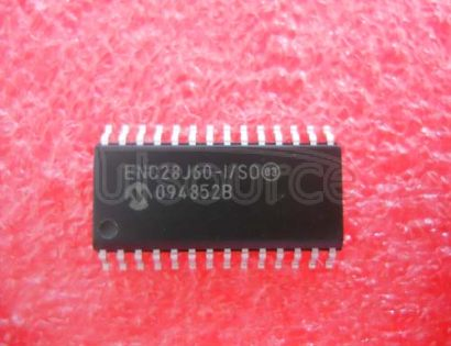 ENC28J60-I/SO Stand-Alone Ethernet Controller with SPI Interface