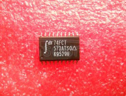 74FCT573ATSO IC LOGIC 573T OCTAL TRANSPARENT LATCH 5V -40+85C SOIC-20 37/TUBE