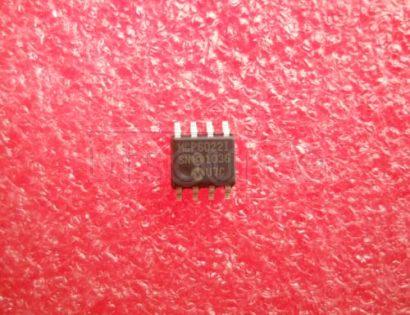 MCP6022-I/SN Rail-to-Rail Input/Output, 10 MHz Op Amps