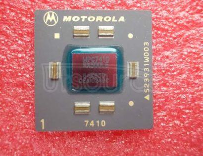 MPC7410RX500LE REV 1.4,1.8+/-.05V,105C
