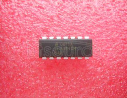 EL4444CN Multiplexed-Input Video Amplifiers