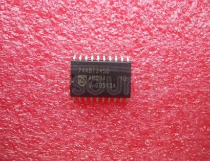 74ABT245D Octal transceiver with direction pin 3-State
