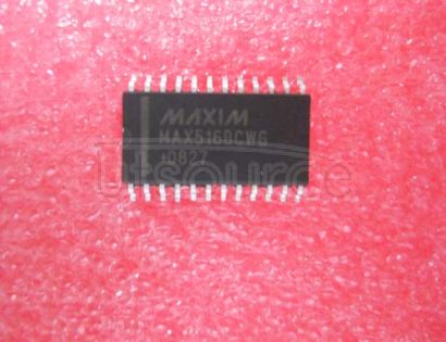 MAX516BCWG Quad Comparator with Programmable Threshold