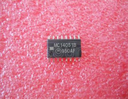 MC14051BFEL Analog Multiplexers/Demultiplexers