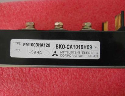PM100DHA120 TRANSISTOR | IGBT POWER MODULE | HALF BRIDGE | 1.2KV VBRCES | 100A IC