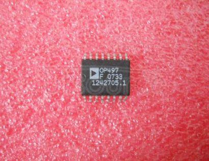 OP497 Precision Picoampere Input Current Quad Operational Amplifier