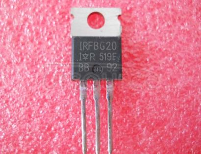 IRFBG20 Power MOSFETVdss=1000V, Rdson=11ohm, Id=1.4A