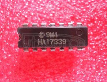 HA17339 Quadruple Comparators