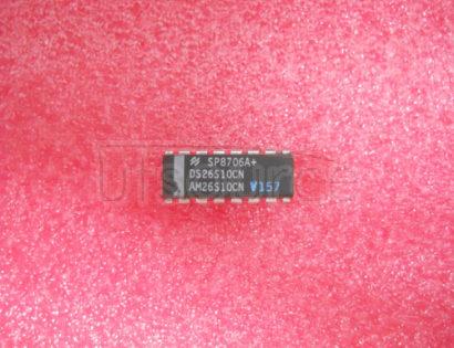 DS26S10CN Quad Bus Transceiver