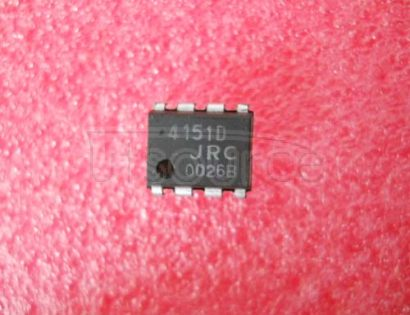 NJM4151D IC V-F/F-V CONVERTER 8DIP