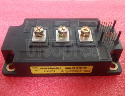 PM300DHA060-1 TRANSISTOR | IGBT POWER MODULE | HALF BRIDGE | 600V VBRCES | 300A IC