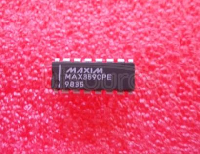 MAX359CPE 2.5-V/3.3-V Oscillator Gain Stage/Buffer with Enable 8-WSON -40 to 85