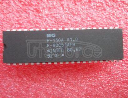 P80C51AFH 80C51 8-bit microcontroller family 8K.64K/256.1K OTP/ROM/ROMless, low voltage 2.7V.5.5V, low power, high speed 33 MHz