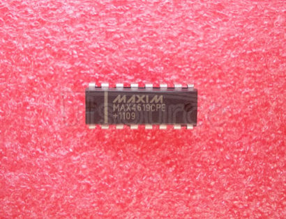 MAX4619CPE High-Speed, Low-Voltage, CMOS Analog Multiplexers/Switches