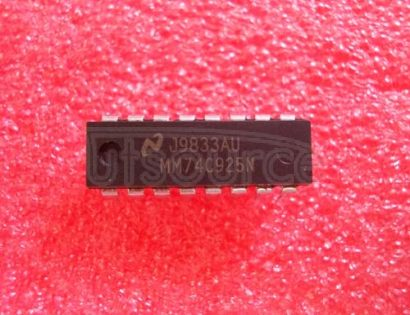 MM74C925N 4-Digit Counters with Multiplexed