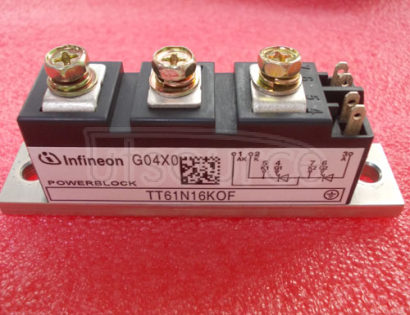 TT61N16KOF Netz-Thyristor-Modul   Phase   Control   Thyristor   Module