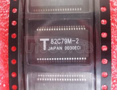 TMP82C79M-2 PROGRAMMABLE KEYBOARD / DISPLAY INTERFACE