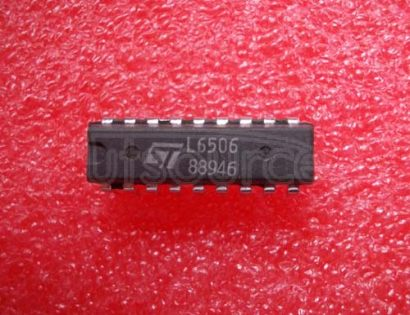L6506 CURRENTCONTROLLER FOR STEPPING MOTORS