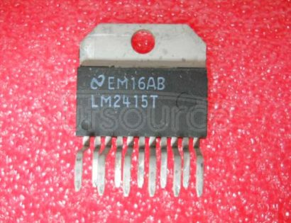 LM2415T Replacement for National Semiconductor part number LM2415T. Buy from authorized manufacturer Rochester Electronics.