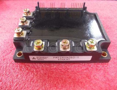 PM75RHA060-1 TRANSISTOR | IGBT POWER MODULE | 3-PH BRIDGE | 600V VBRCES | 75A IC