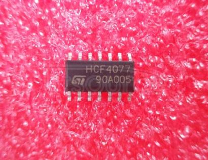 HCF4077 QUAD EXCLUSIVE NOR GATE