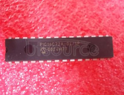 PIC16C72A-04/SP 28-Pin 8-Bit CMOS Microcontrollers