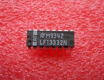 LF13332N Quad SPST JFET Analog Switches