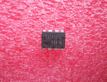 KA34063A SMPS Controller; Package: DIP; No of Pins: 8; Container: Rail