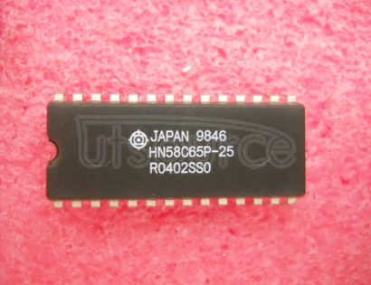 HN58C65P25 8192-word X 8-bit Electrically Erasable and Programmable CMOS ROM