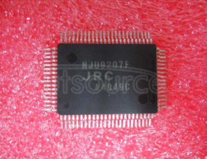 NJU9207F 3.1/2   DIGIT   SINGLE   CHIP   DIGITAL   MULTIMETER   LSI