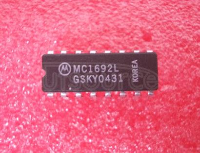 MC1692L Quad Line Receiver