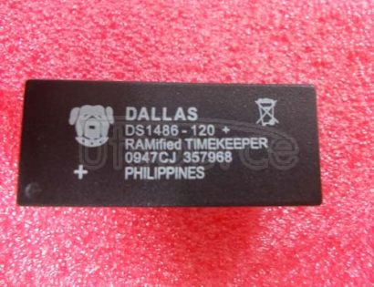 DS1486-120 RAMified Watchdog Timekeeper
