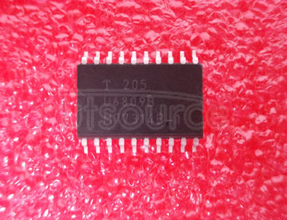 U6809B Fail-Safe IC with Relay Driver and Lamp Driver