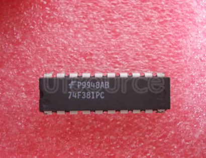 74F381PC Replacement for Fairchild part number 74F381PC. Buy from authorized manufacturer Rochester Electronics.