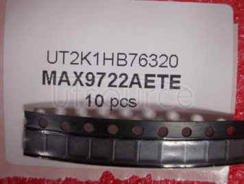 MAX9722AETE+T