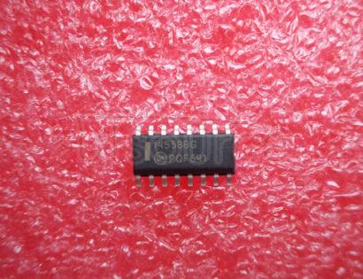MC14538BDG Dual Precision Retriggerable/Resettable Monostable Multivibrator