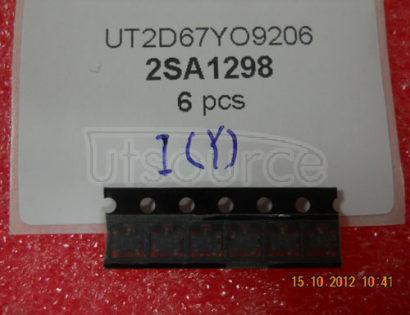 2SA1298 2SA1298 PNP transistors(BJT) -30V -800mA/-0.8A 120MHz 160~320 -400mV/-0.4V SOT-23 marking  J1Y low-frequency power amplifier